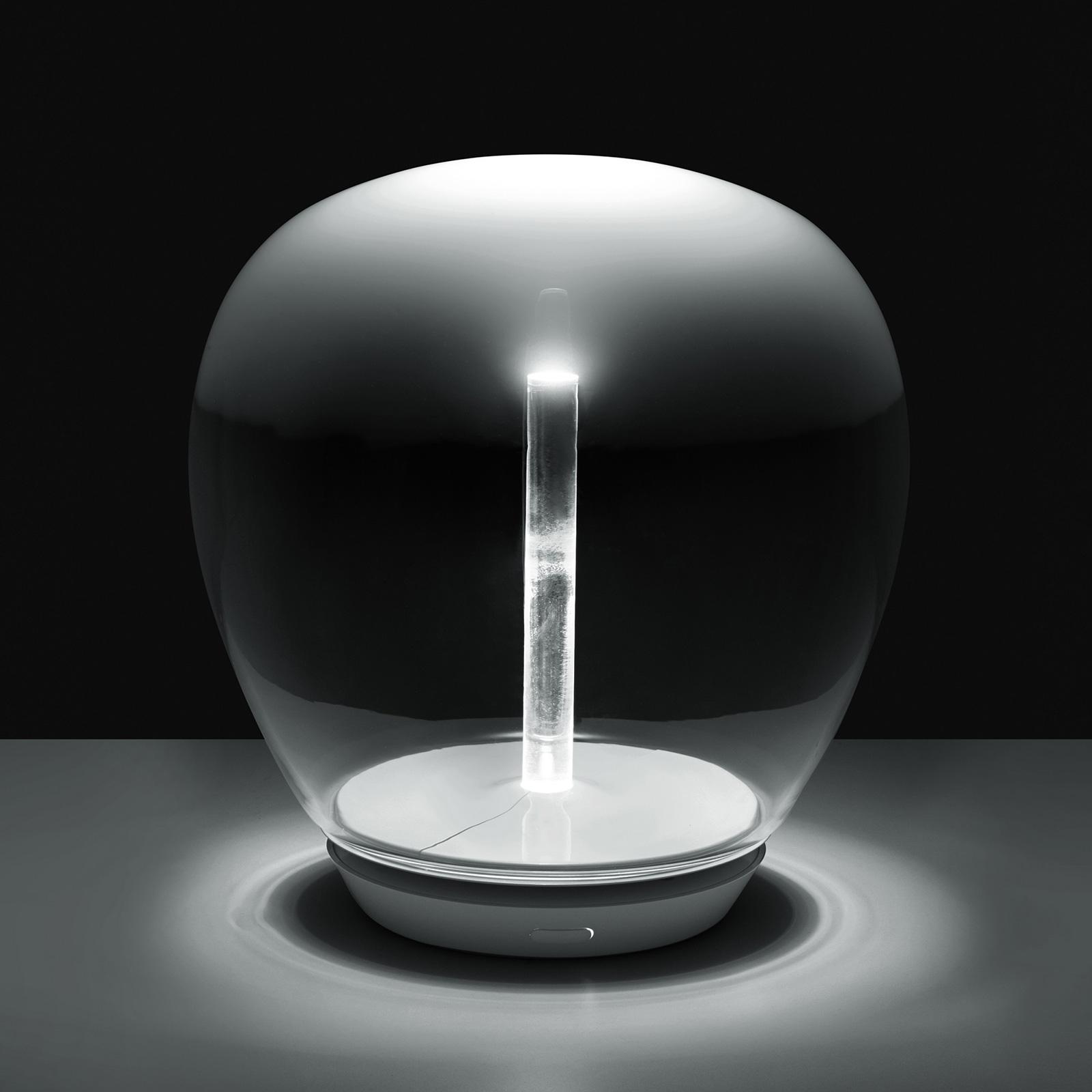 Artemide Empatia skleněná stolní lampa LED, Ø 26cm