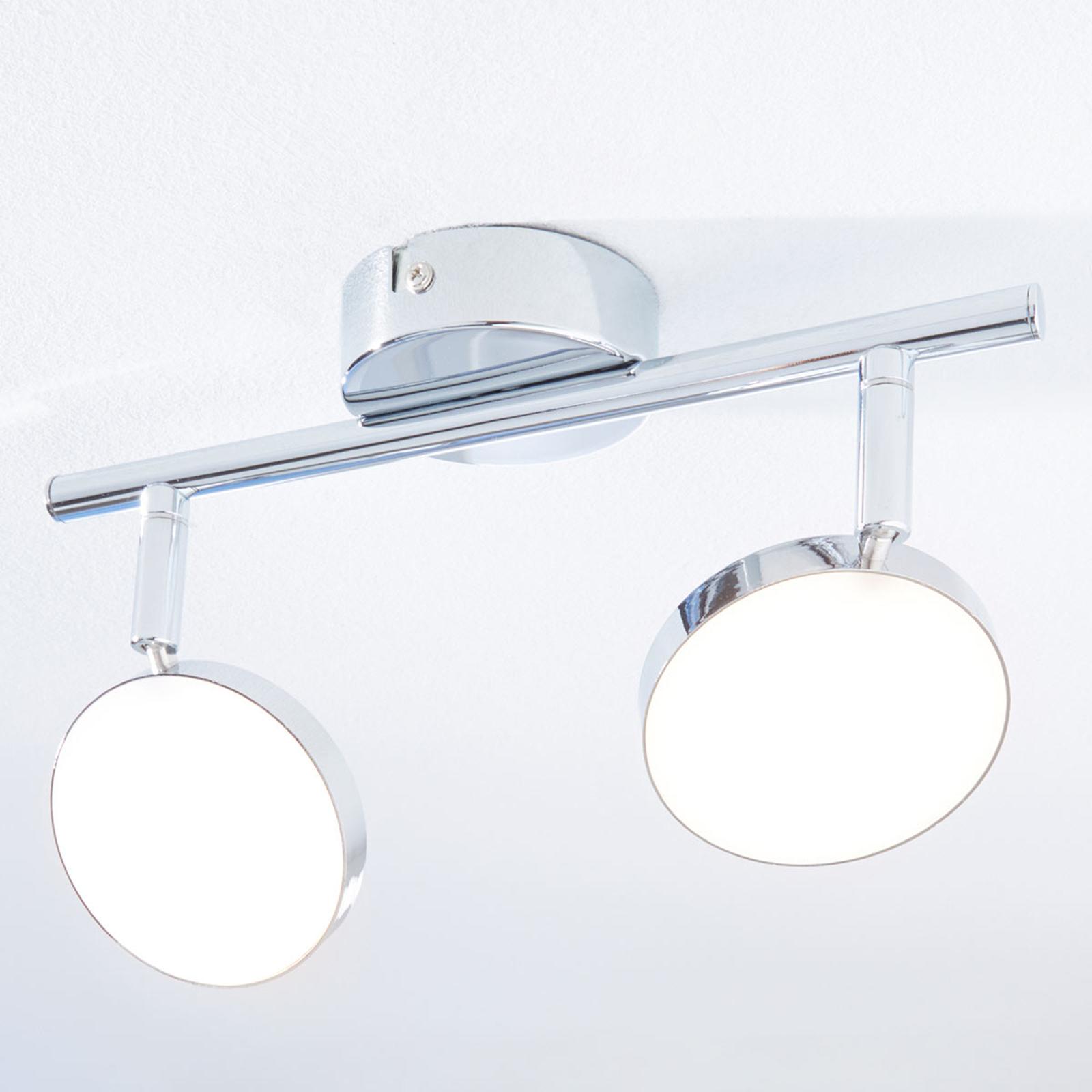 LED-takspotlight Keylan, 2 lampor