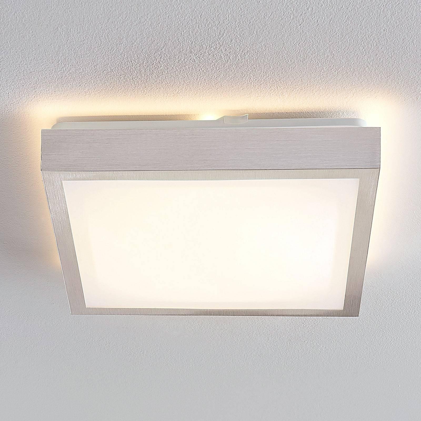 Lindby Margit plafoniera LED angolare, 32 cm