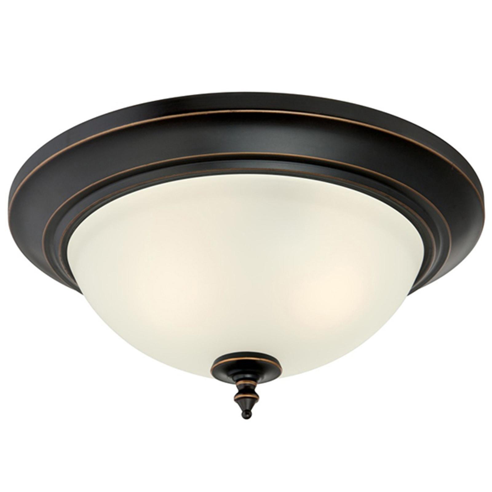 Westinghouse Harwell lampa sufitowa, brąz