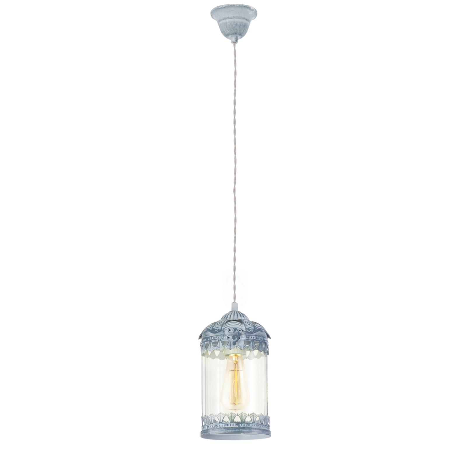 Vintage 2 - hanglamp in grijsblauw