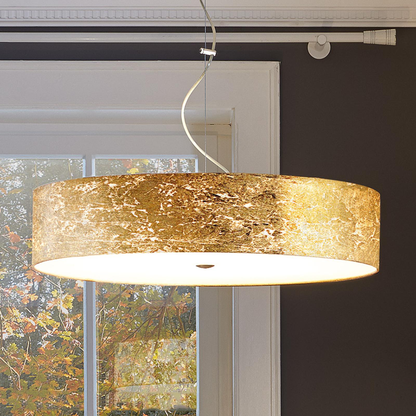Hanglamp Alea Loop goudkleurig