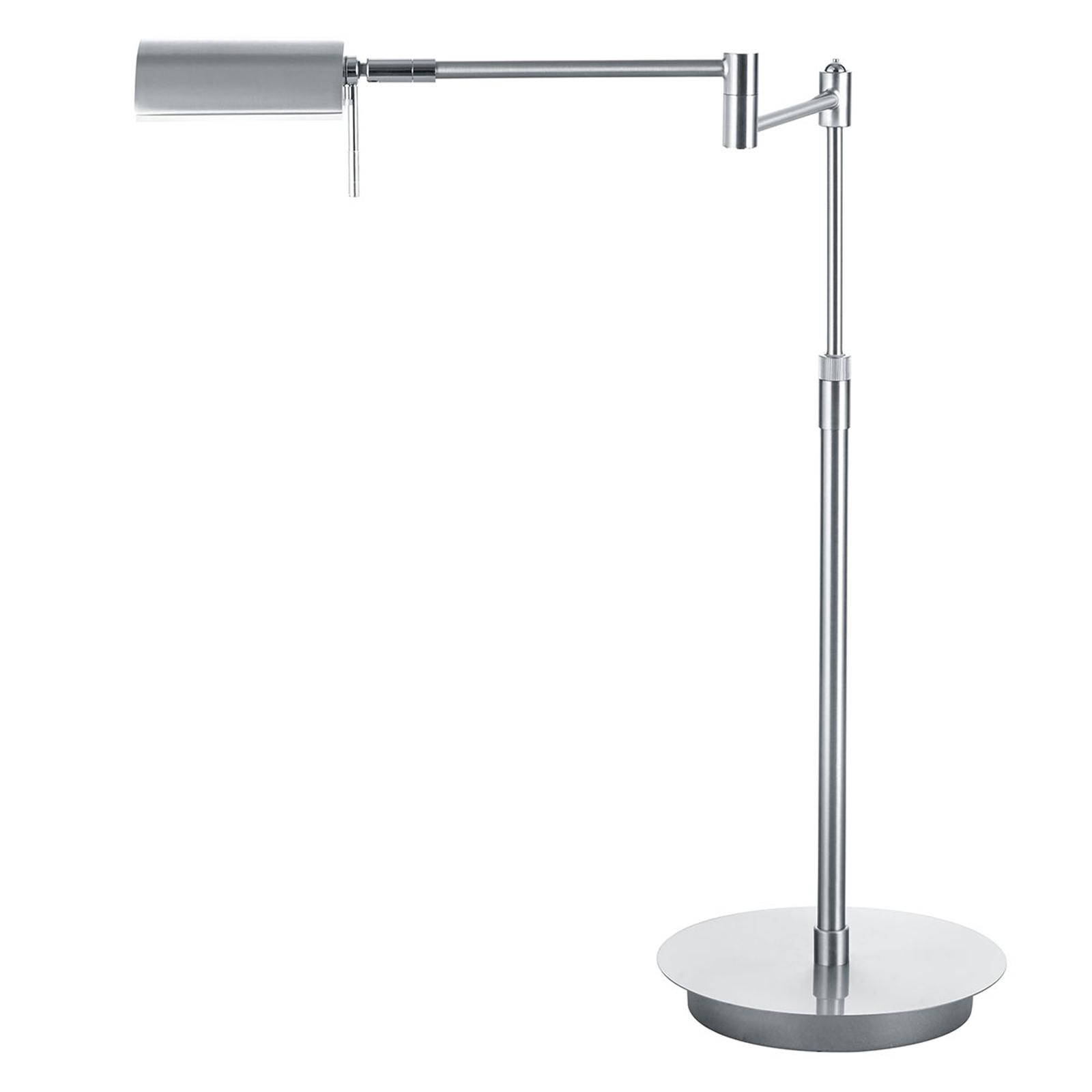B-Leuchten Graz LED tafellamp, nikkel mat