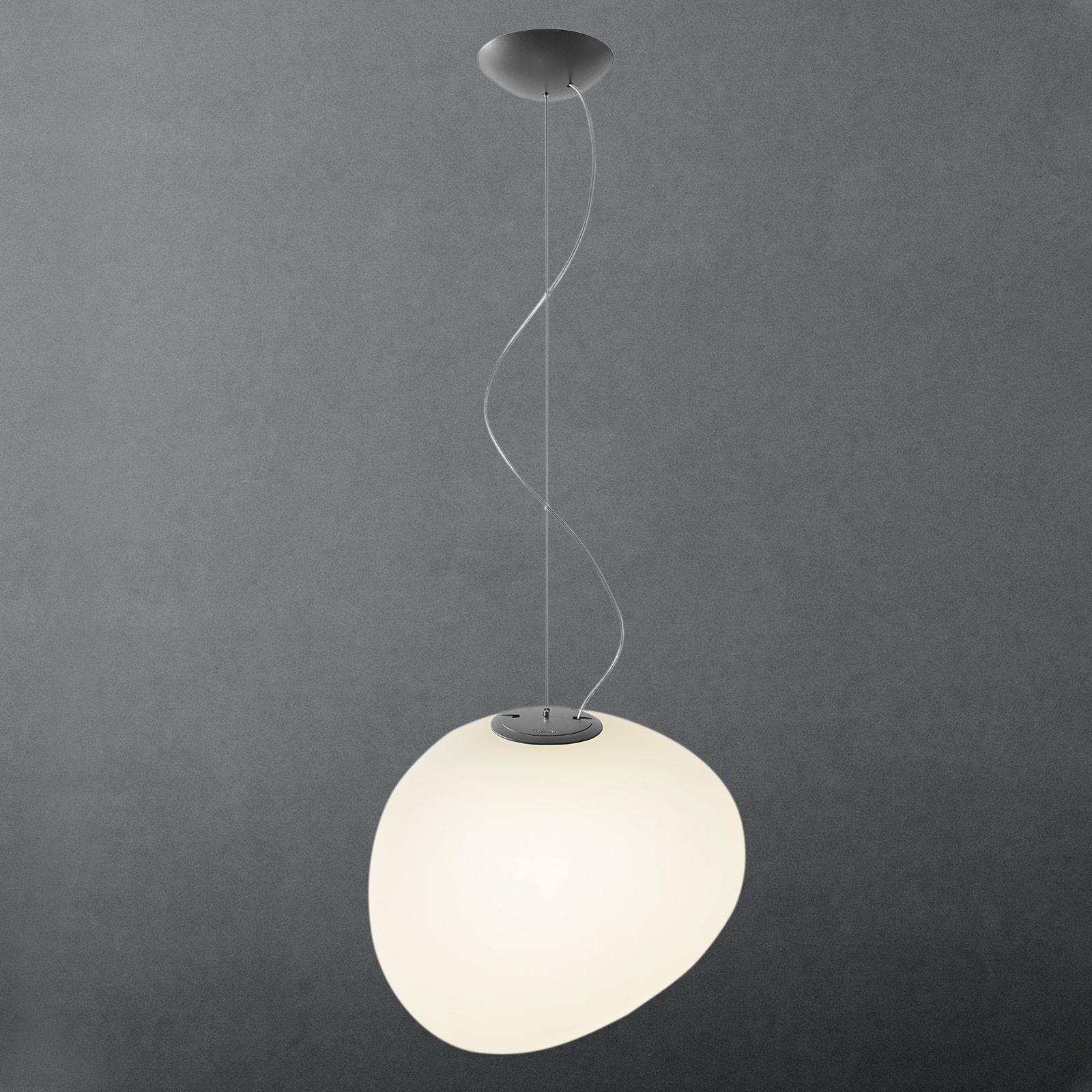 Foscarini MyLight Gregg grande hængelampe, grafit