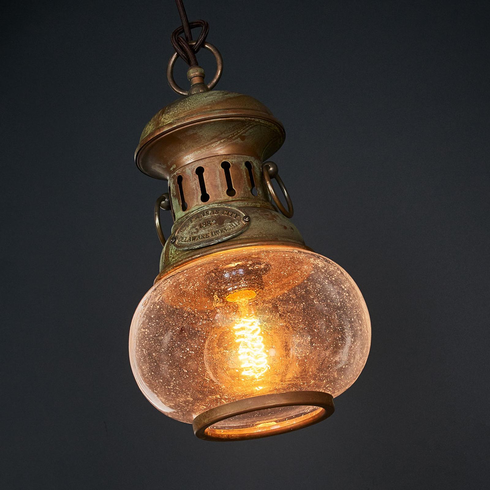 Originale lampada a sospensione Wind a 1 luce