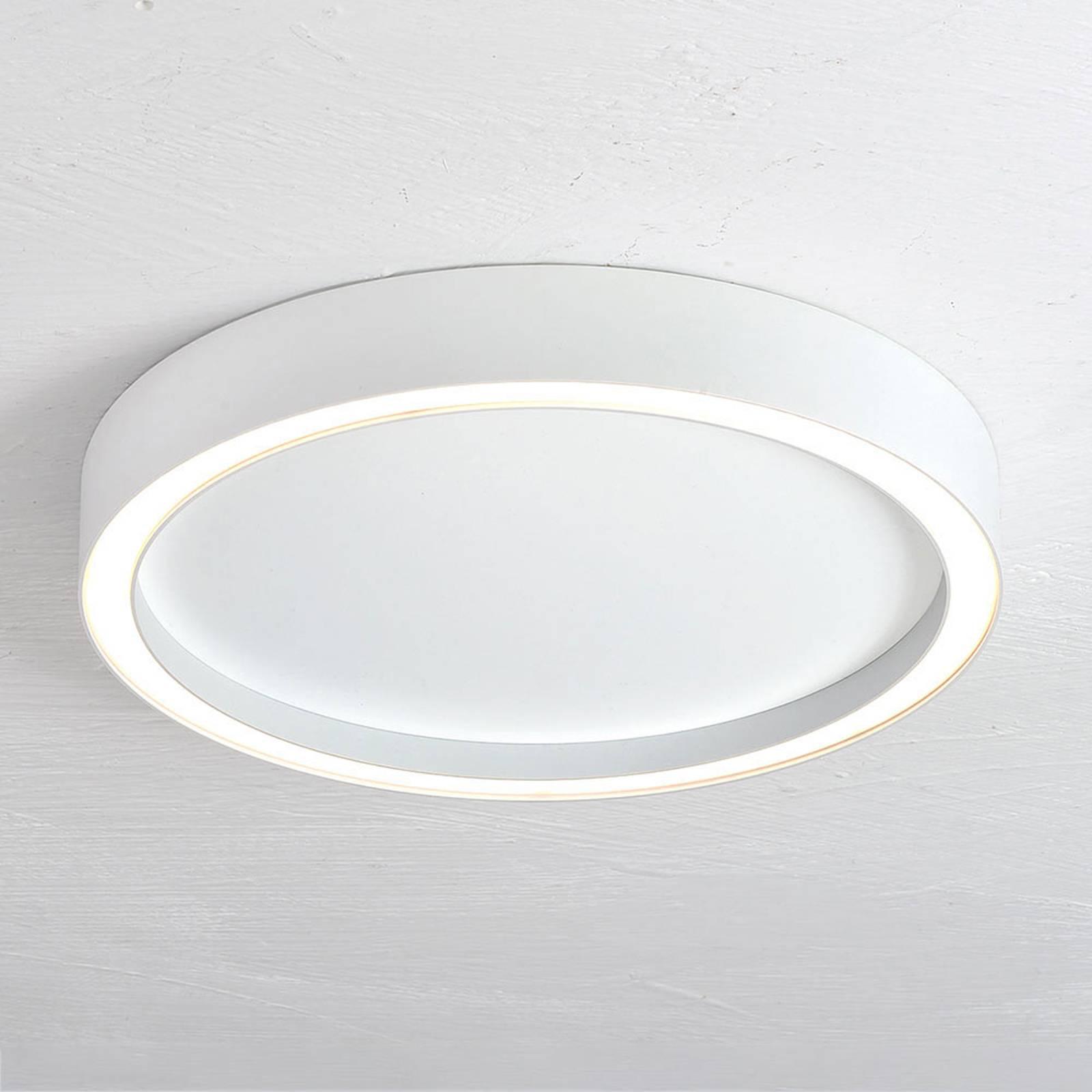 Bopp Aura lampa sufitowa LED Ø 40cm biała/biała