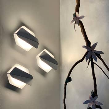 Prandina Dolomite W1 LED-vegglampe 3pk 2 700K