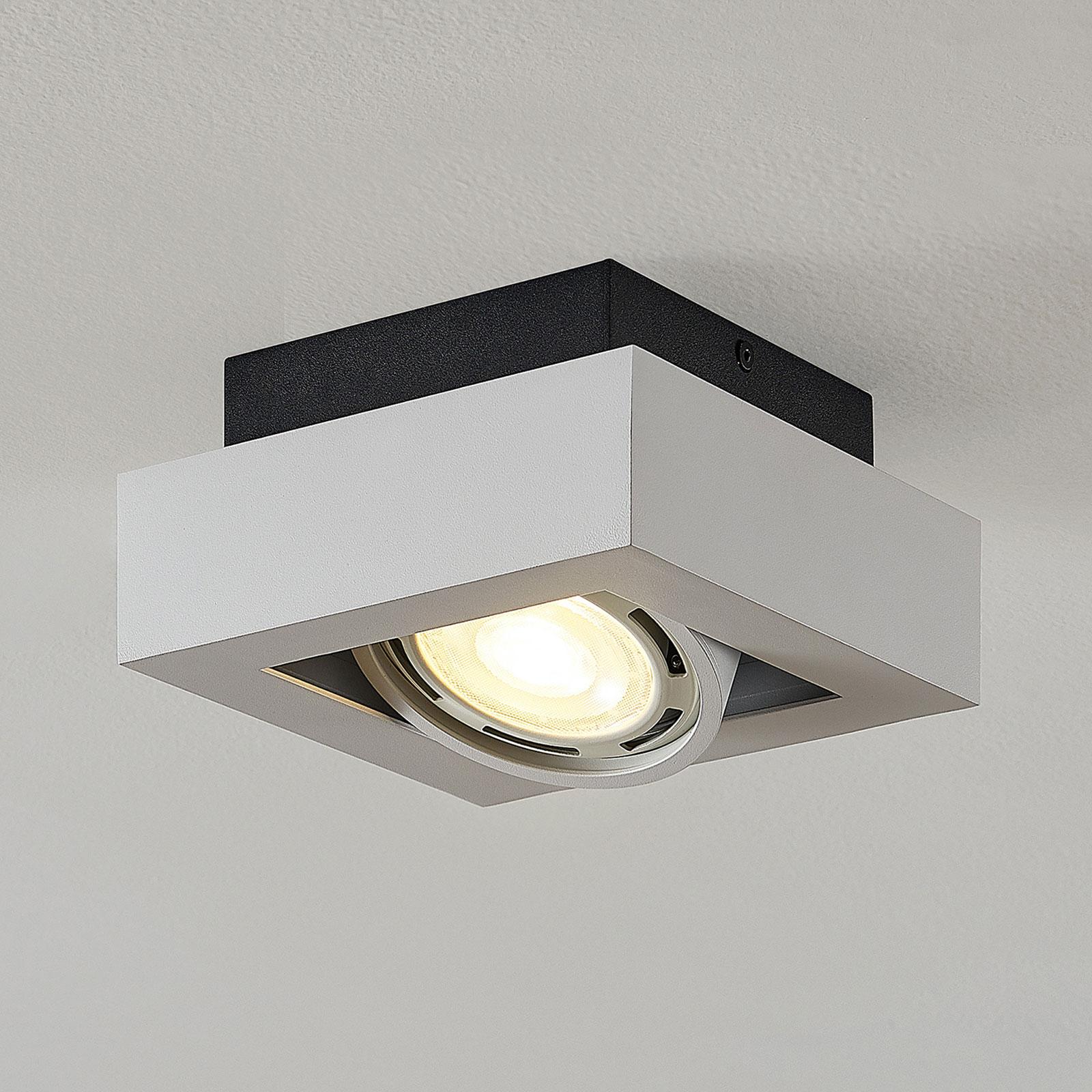 LED-takspot Ronka, GU10, 1 lyskilde, hvit