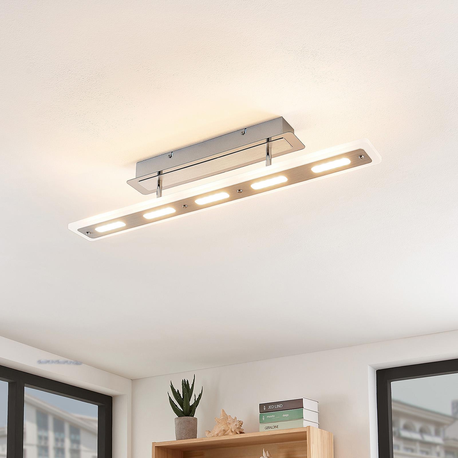 Lindby Lavea lampa sufitowa LED w chromie