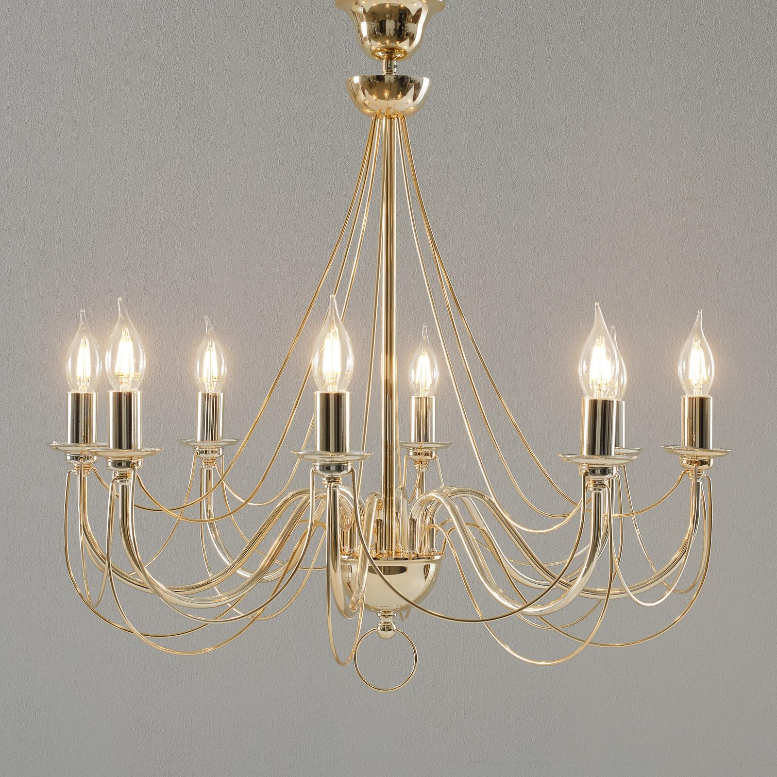 Herregård: Retro lamper til salgs