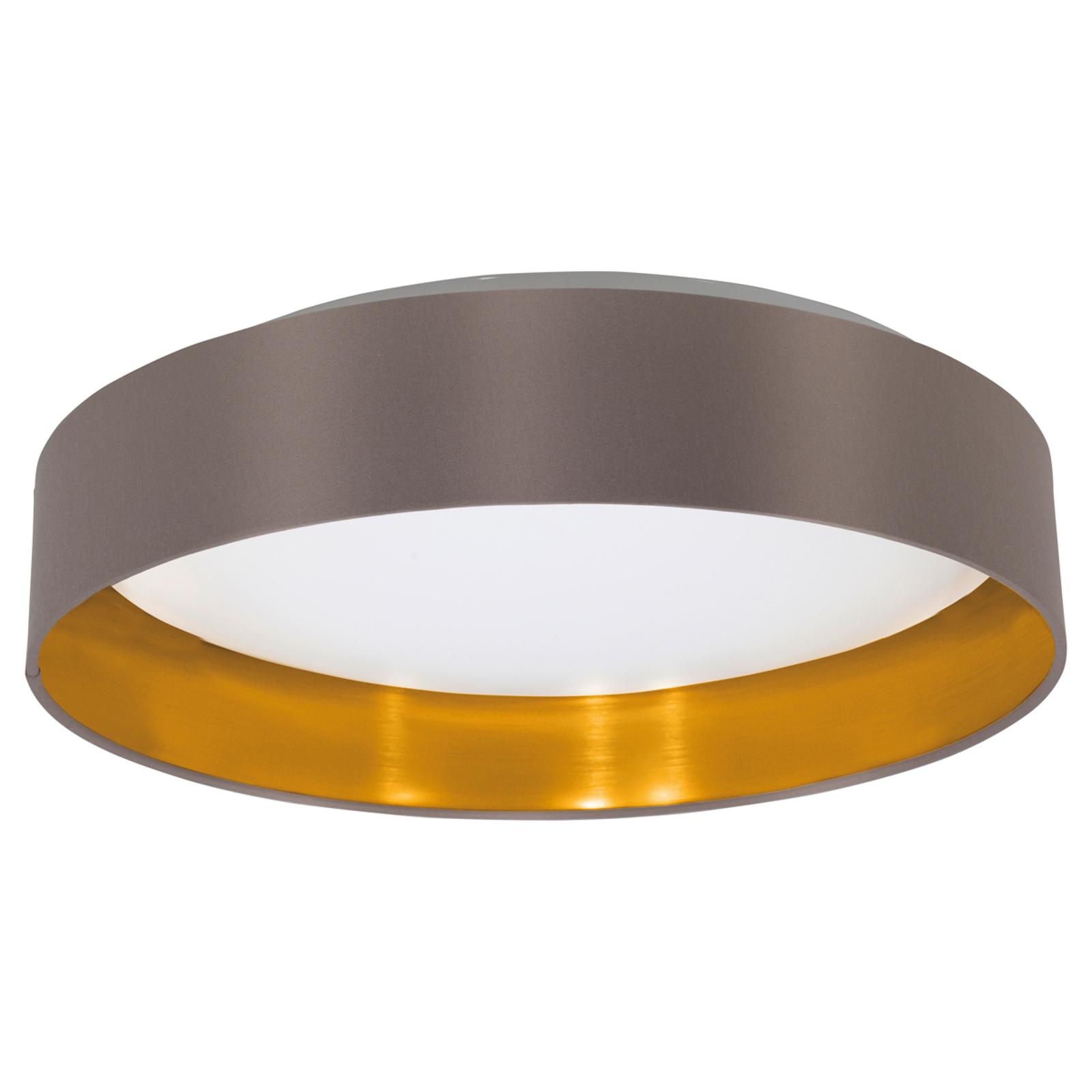 LED plafondlamp Capri uit textiel