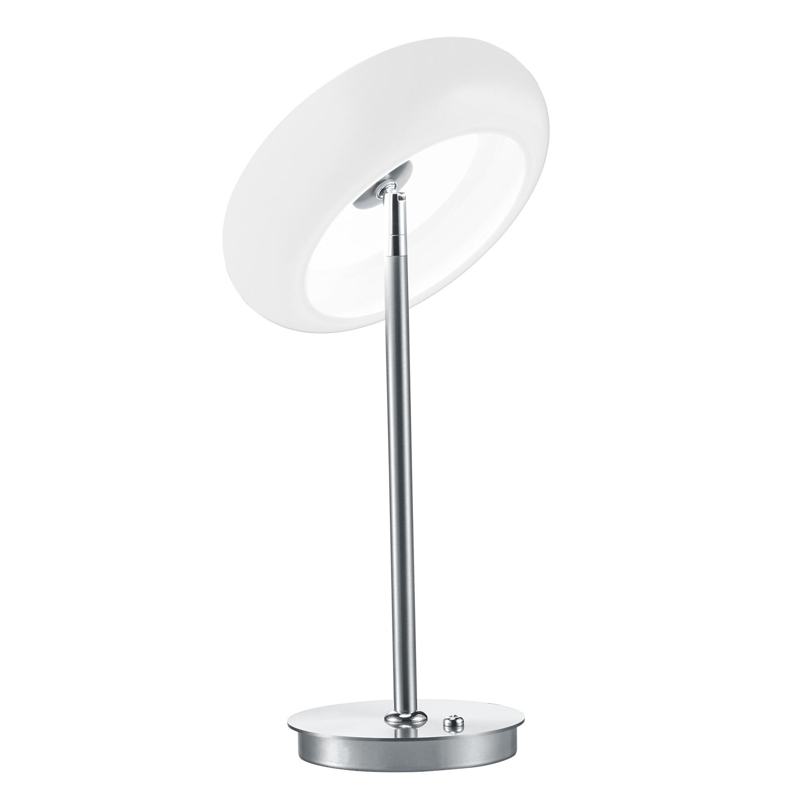 BANKAMP Centa LED tafellamp, nikkel