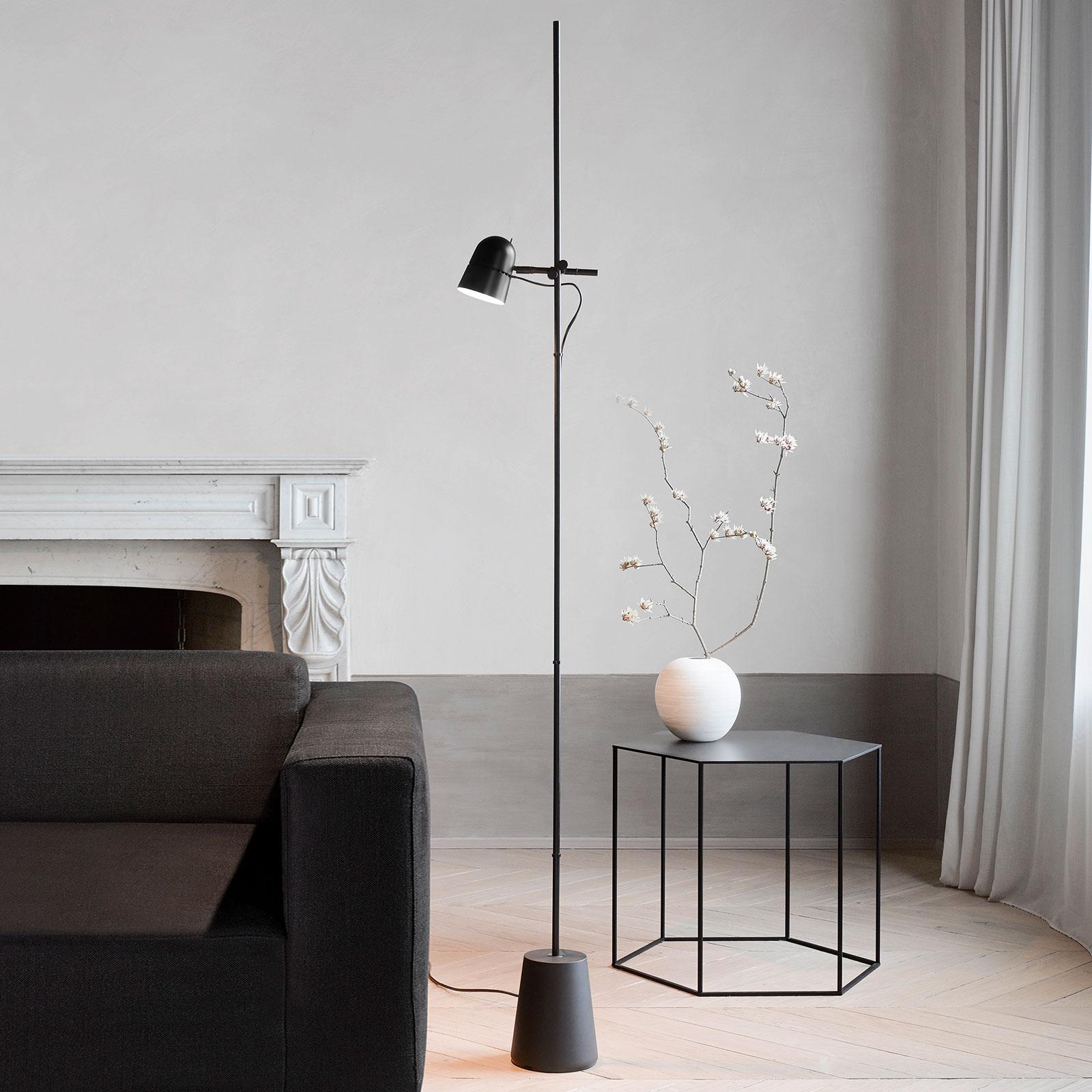 Luceplan Counterbalance lampa stojąca LED, czarna