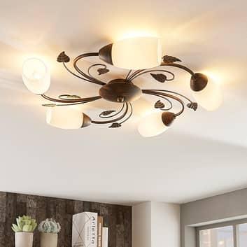 Stefania - elegant taklampa med LED-lampor