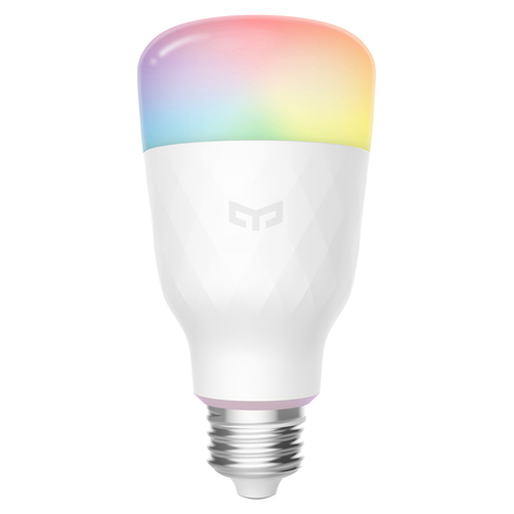 Yeelight Smart LED-pære E27 1S Color 8,5W dæmpbar