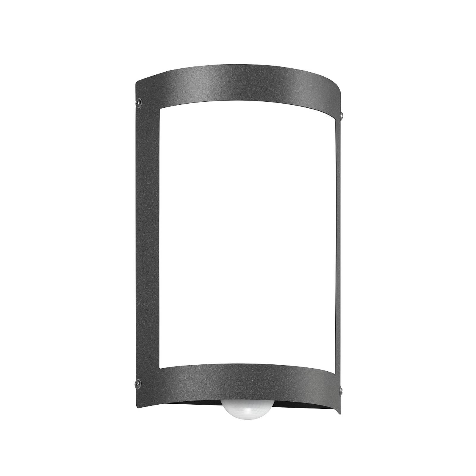 Sensor-Außenlampe Aqua Marco ohne Raster anthrazit