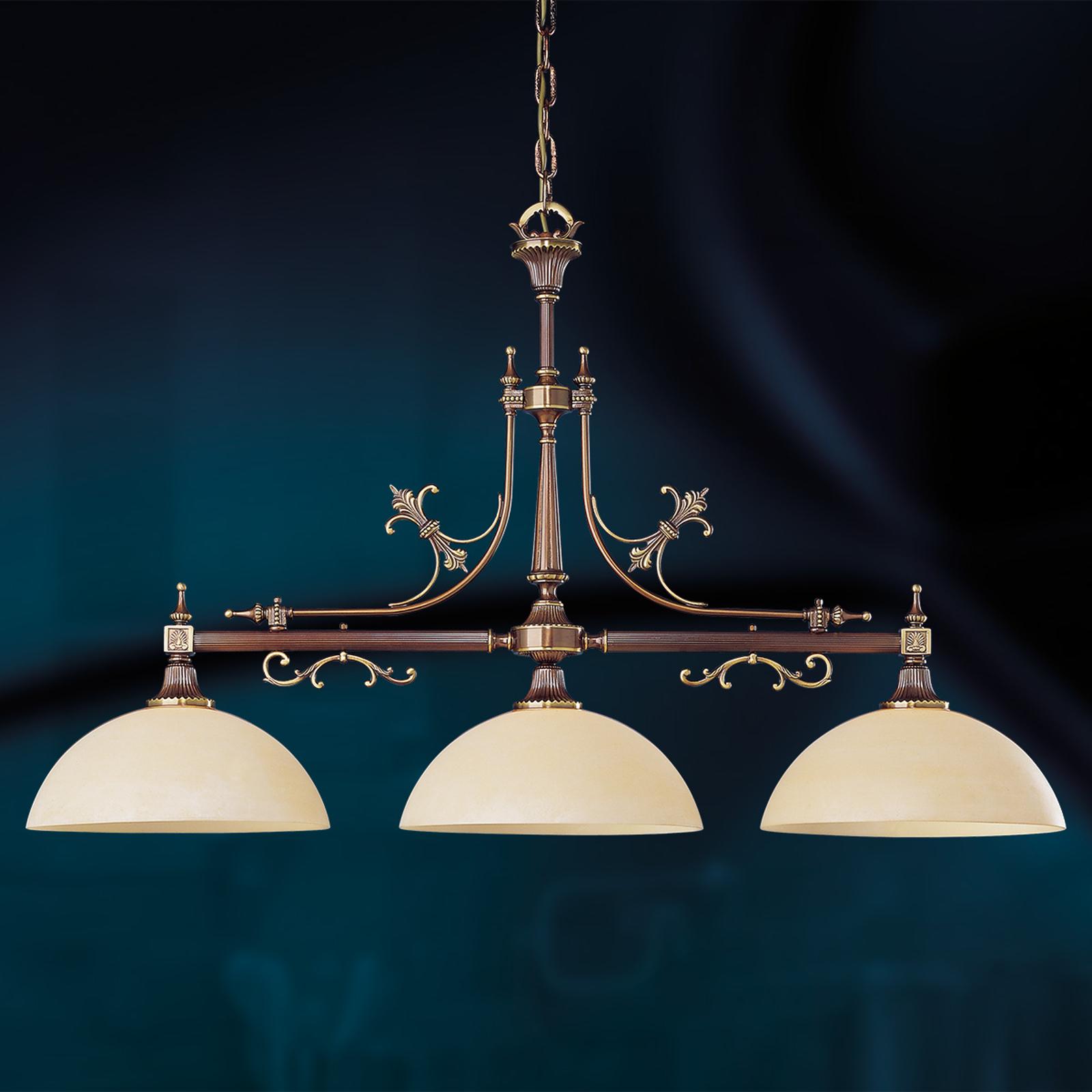 3-punktowa lampa wisząca Casino