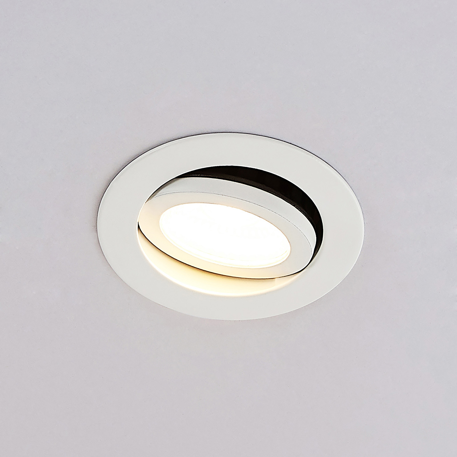 Arcchio Nabor LED-downlight 36° 2700K, IP65, 6,4W