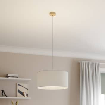 Lampa wisząca Corralee, biała, 1-punktowa
