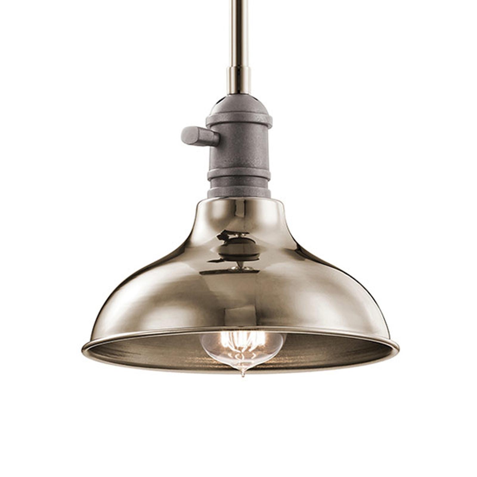 Lampa wisząca Cobson Ø 20,3 cm nikiel polerowany