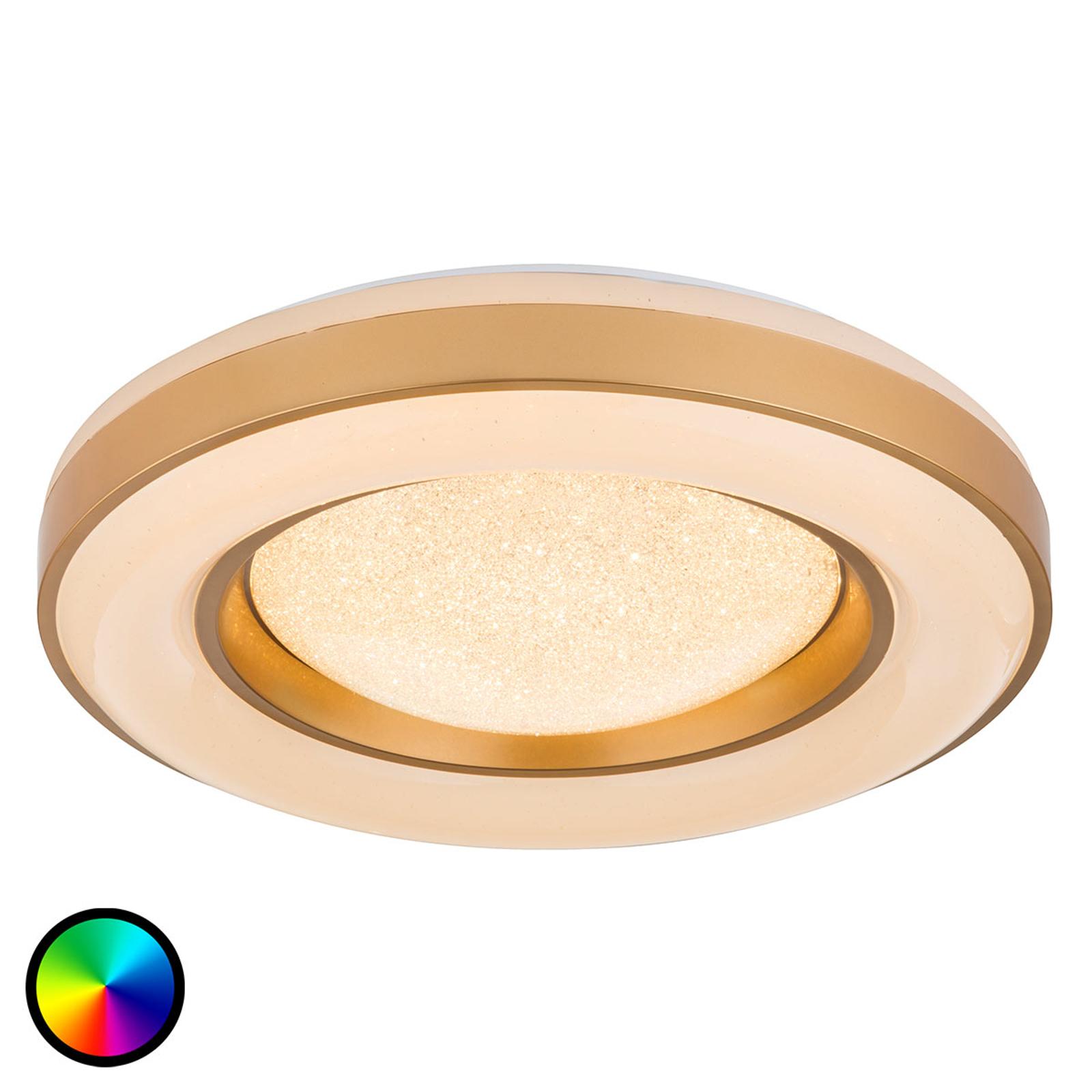 Ściemniana lampa sufitowa LED Colla