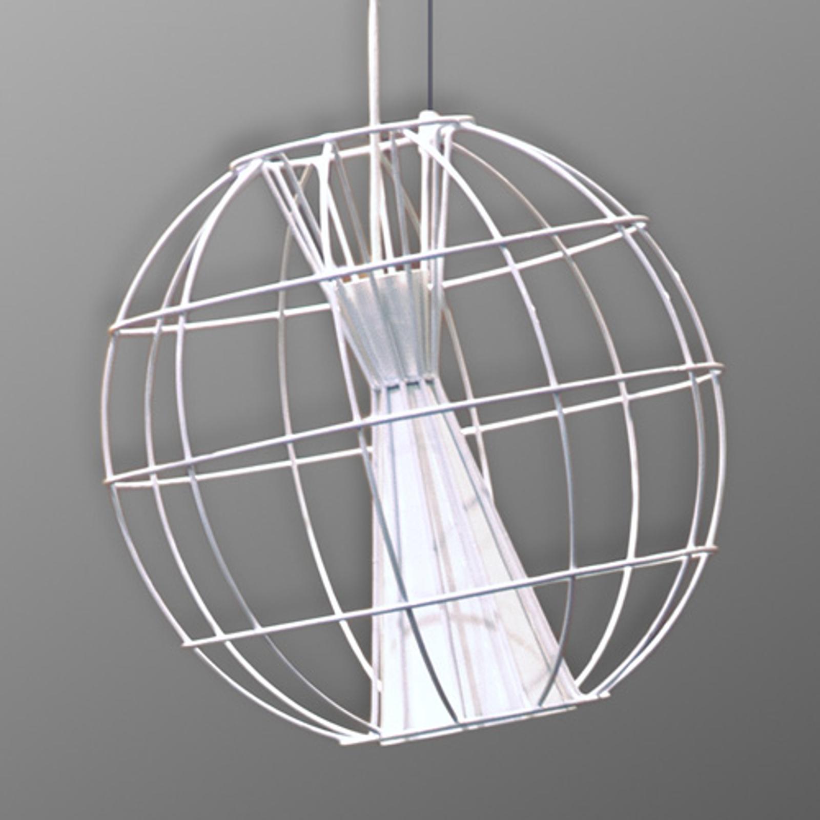 Innermost Latitude - lampa wisząca LED biała