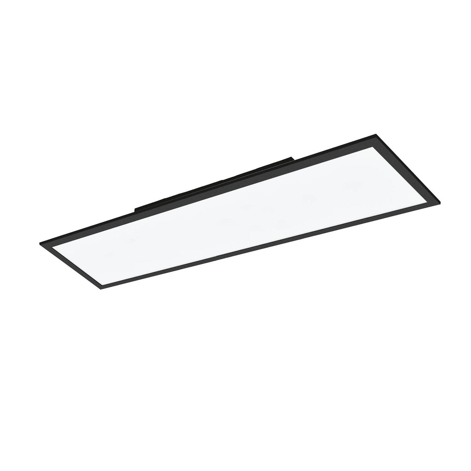 EGLO connect Salobrena-C LED-panel svart 120x30 cm