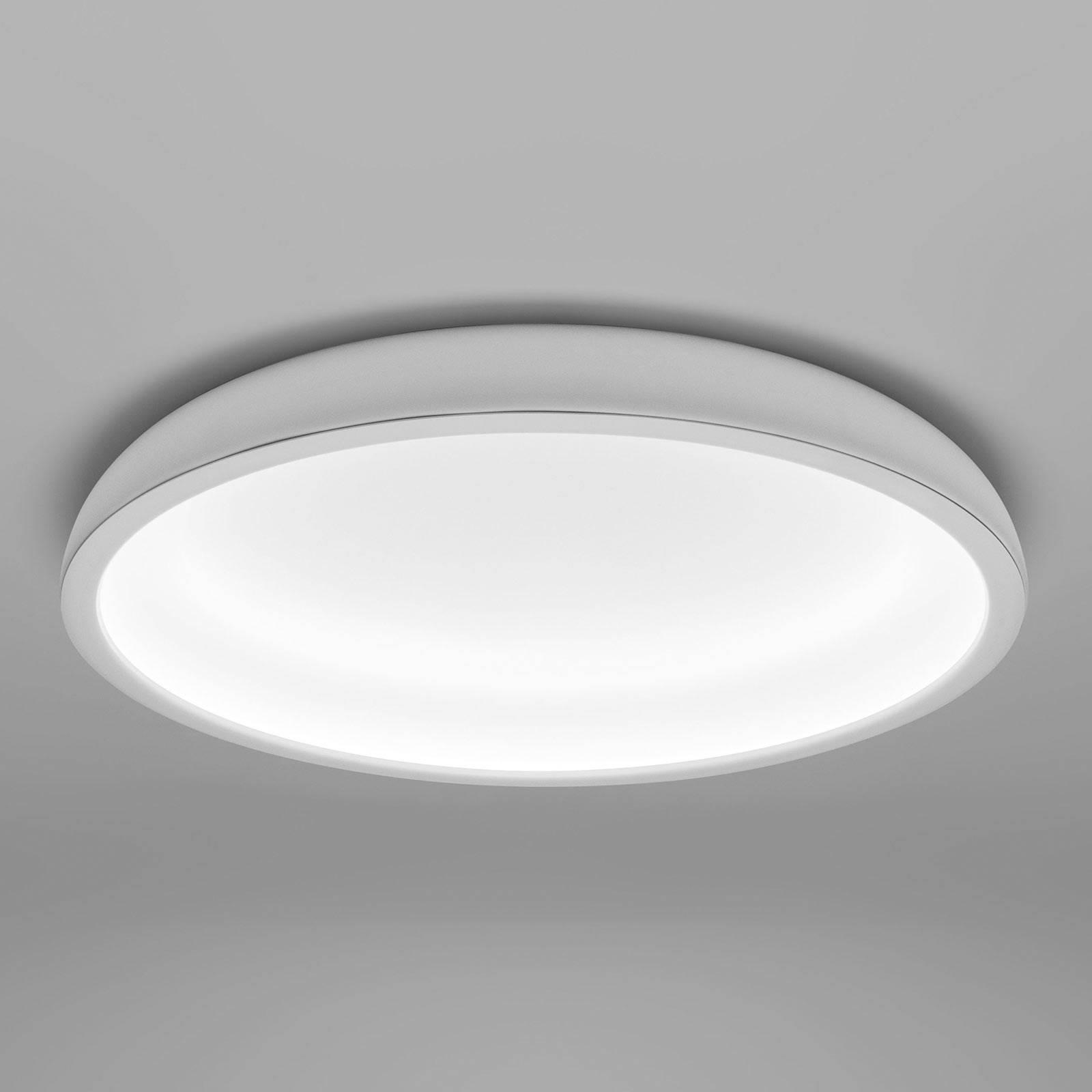 LED plafondlamp Reflexio, Ø 46cm, wit