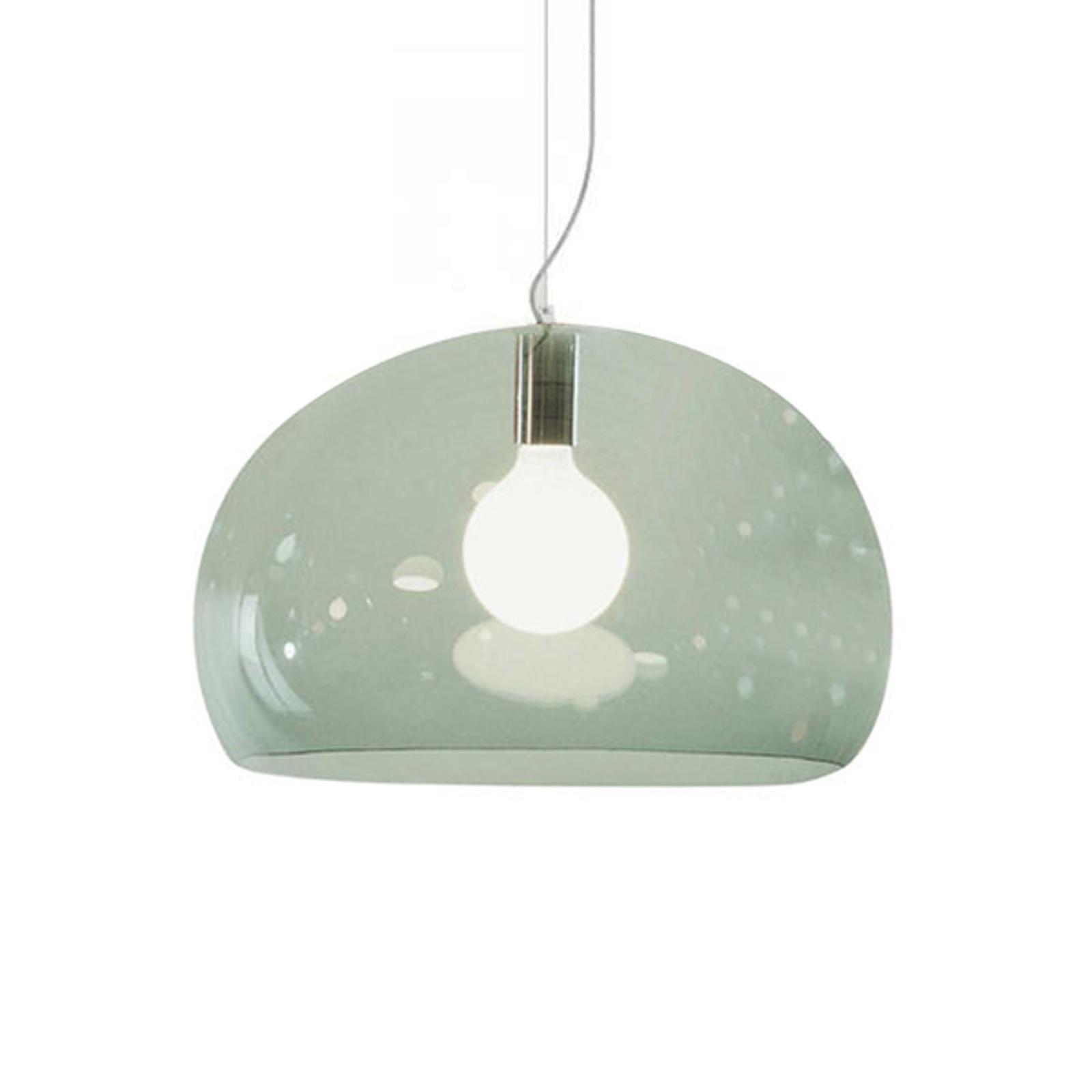 Kartell FL/Y – lampa wisząca LED, zieleń szałwii