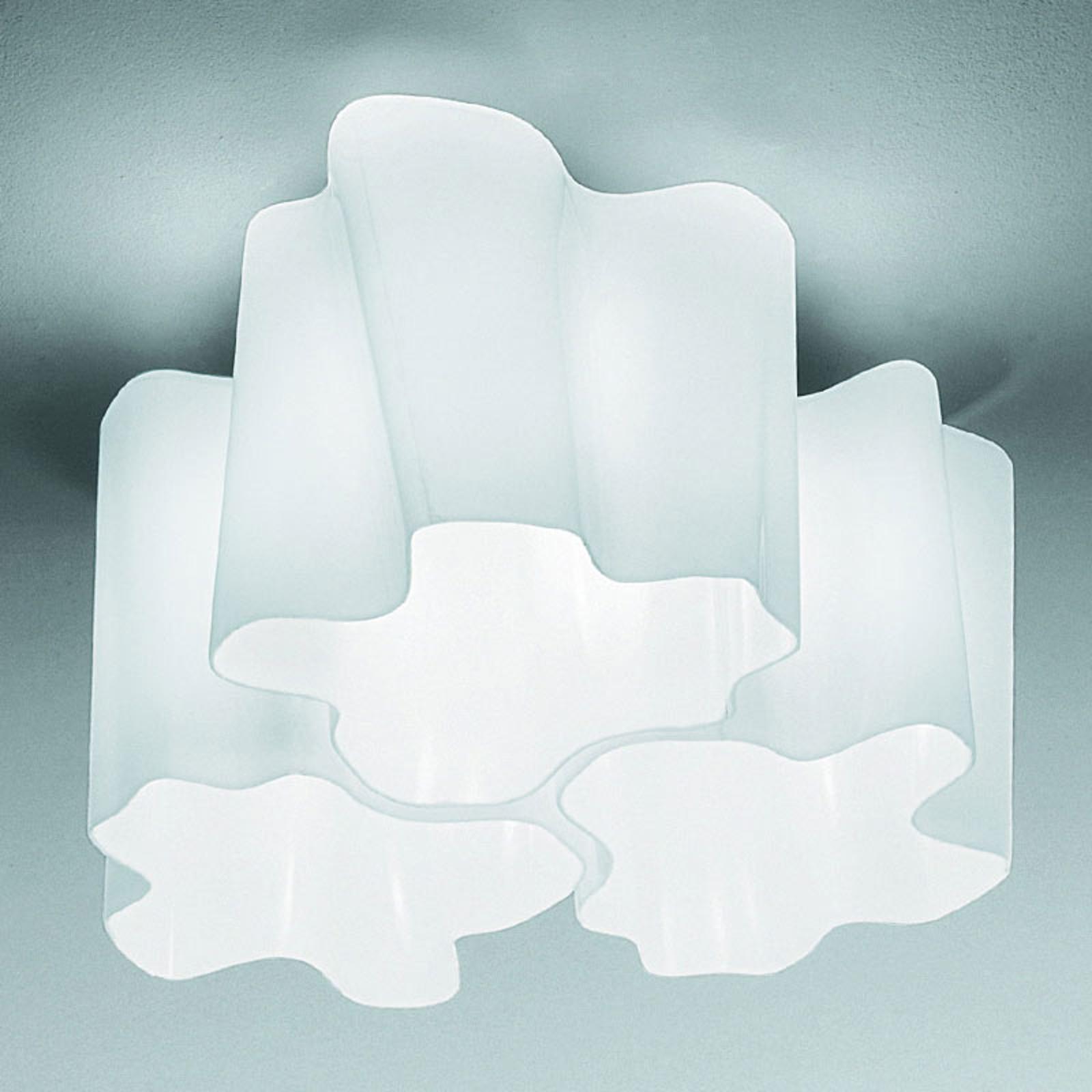 Artemide Logico Deckenlampe 3fl. 120° 45x45 cm