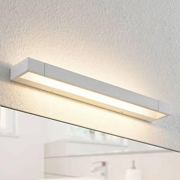 Arcchio Jora applique LED, IP44, bianco, 60 cm