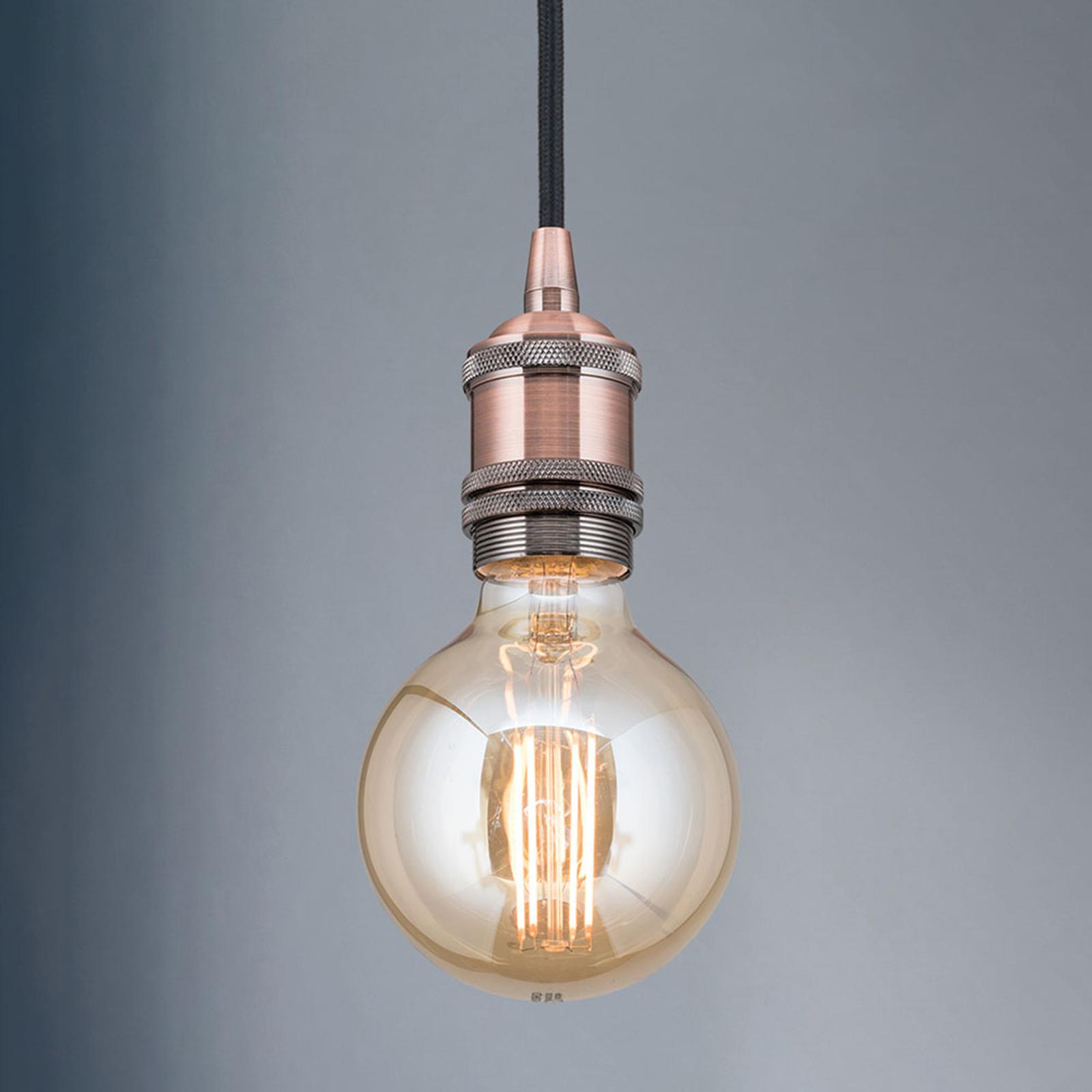 Lampa wisząca oprawa Jailhouse miedź