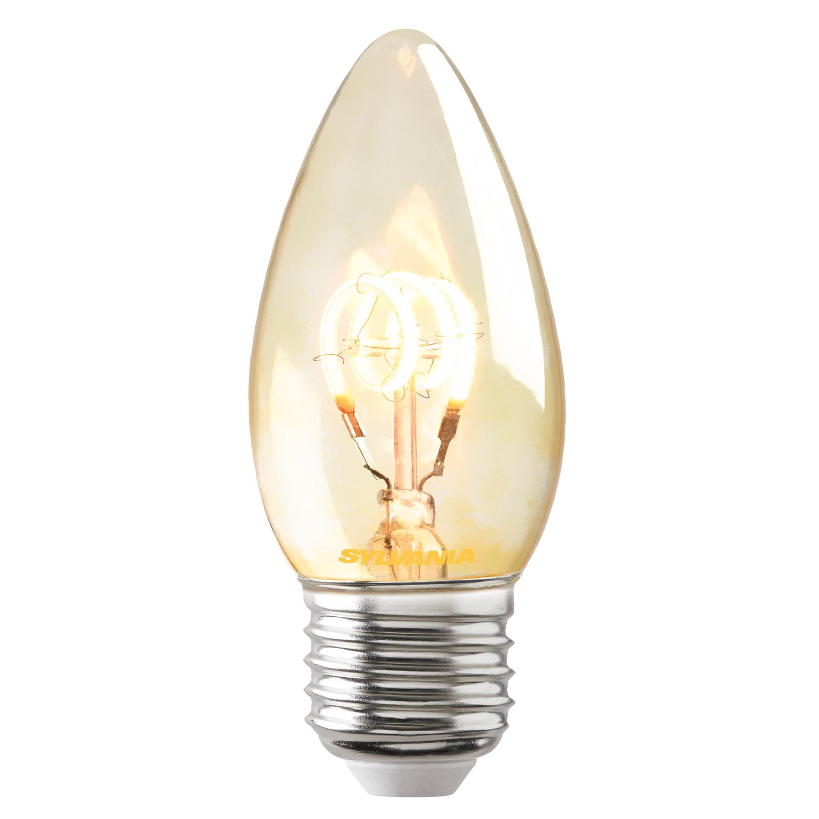 LED-mignonpære E27 ToLEDo Vintage 820 2,3W gull