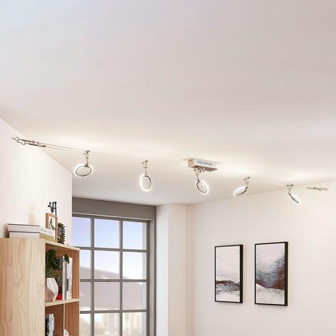 LED kabelverlichting Ratka, met vijf lampjes
