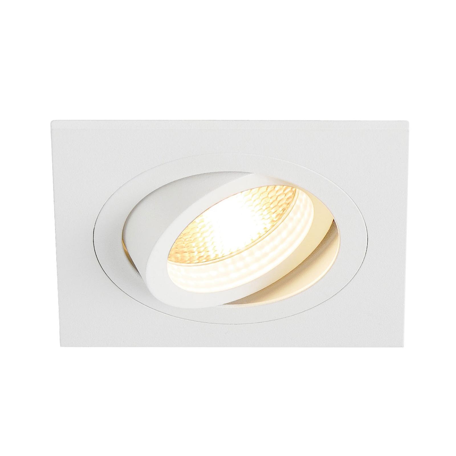 SLV reflektor wpuszczany New Tria 1 GU10, biały