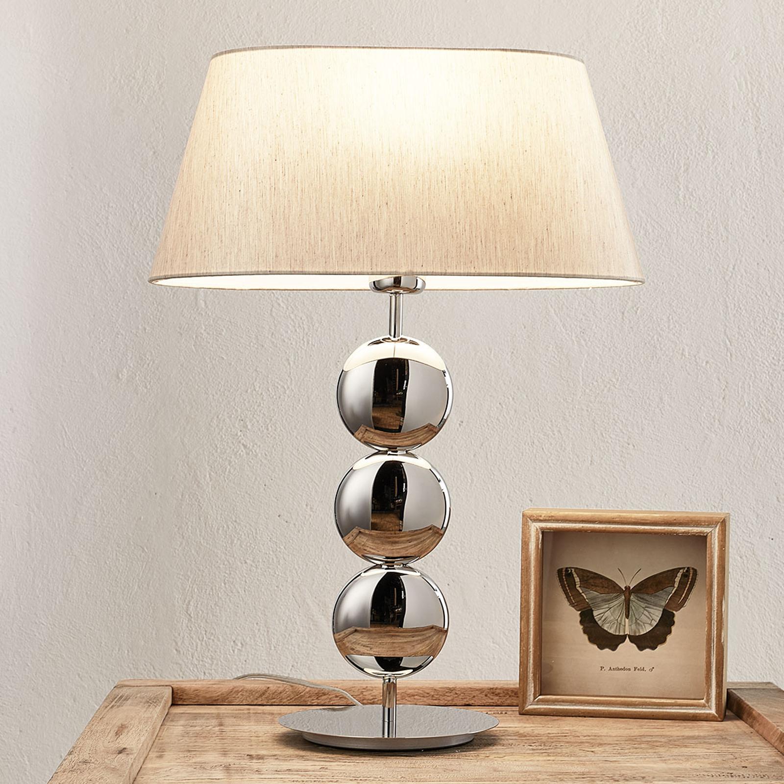 Villeroy & Boch Sofia - tafellamp voet zilver