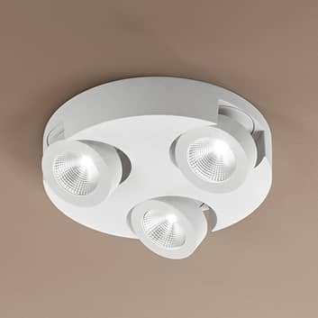 Rund LED-taklampe Hella