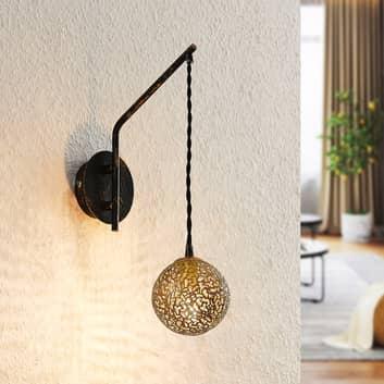 Lucande Zale lampa ścienna, 1-punktowa, orientalna