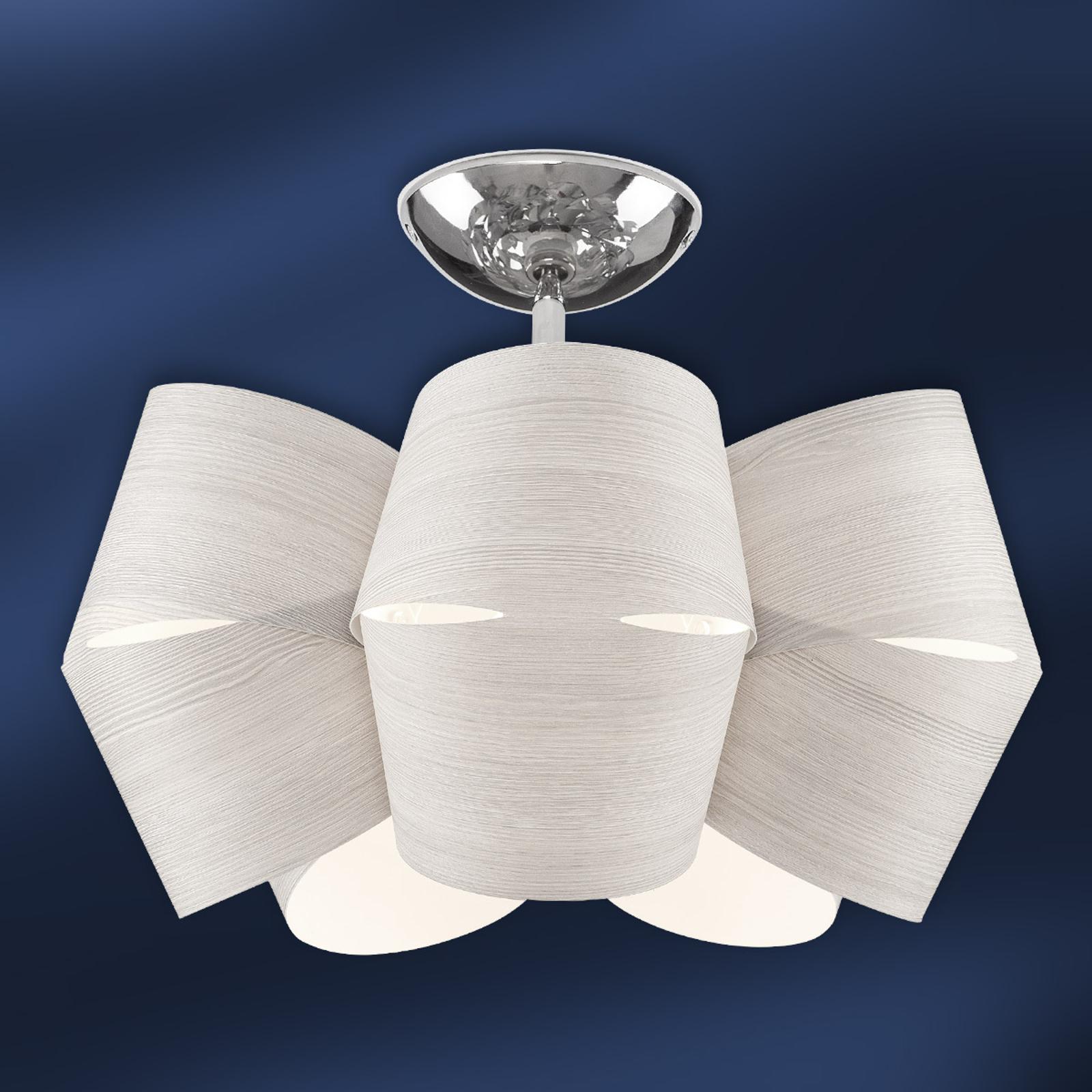 Larch wood ceiling light Sky Mini Alien ice grey_1056074_1