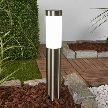 Aleeza - lampa solarna LED z grotem ziemnym