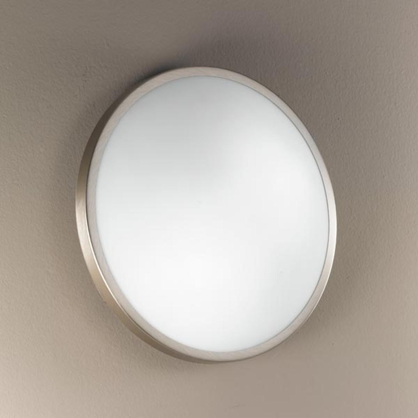 Applique ou plafonnier PLAZA, verre, 21,5 cm