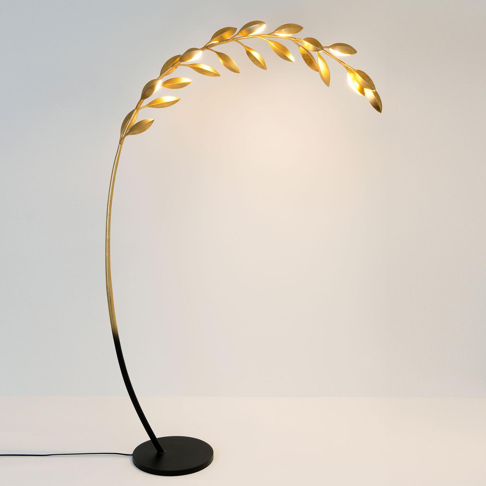 Lámpara de pie Riso, 11 luces
