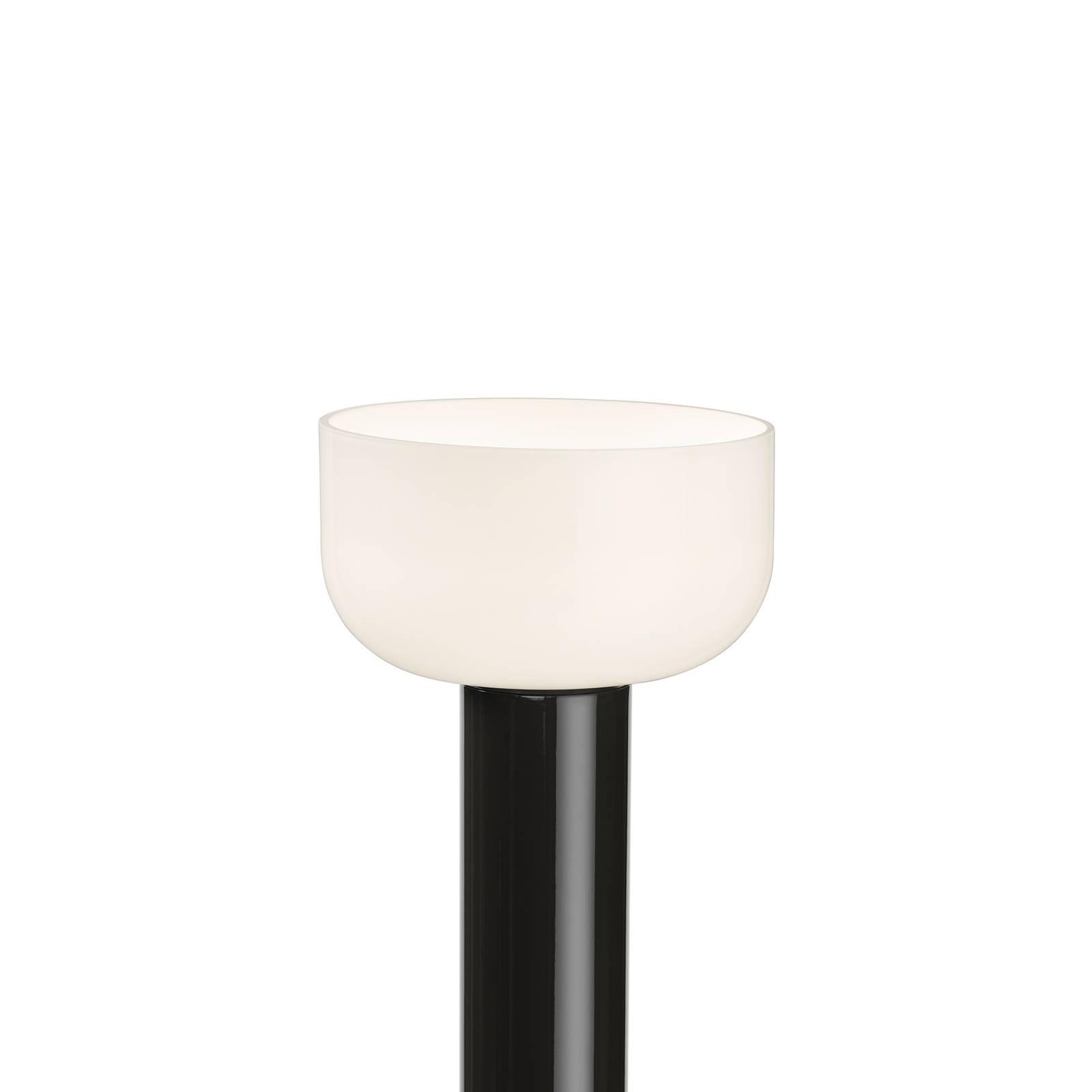 FLOS Bellhop LED-Stehleuchte, dunkelbraun