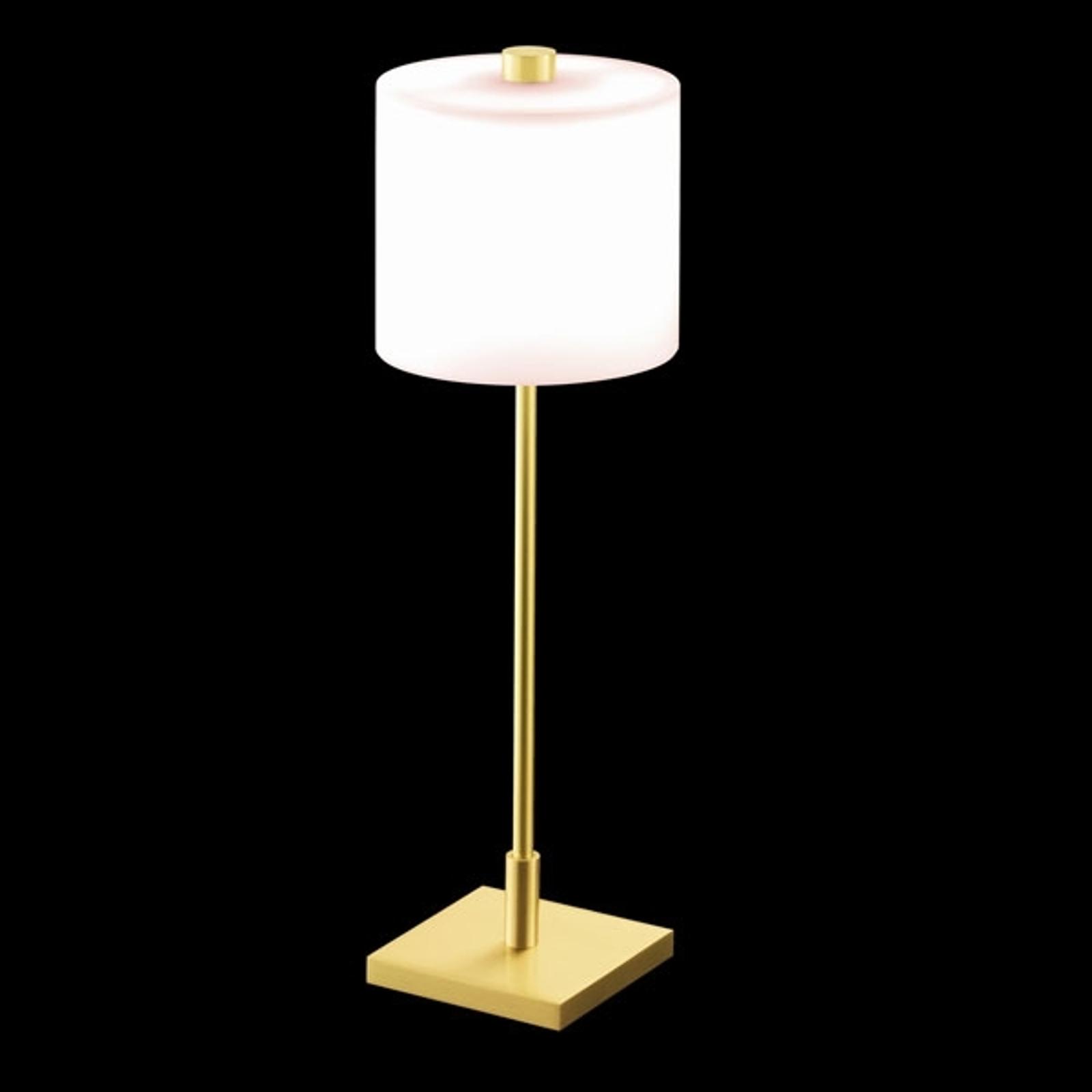 KNAPSTEIN tafellamp MERCY, messing mat