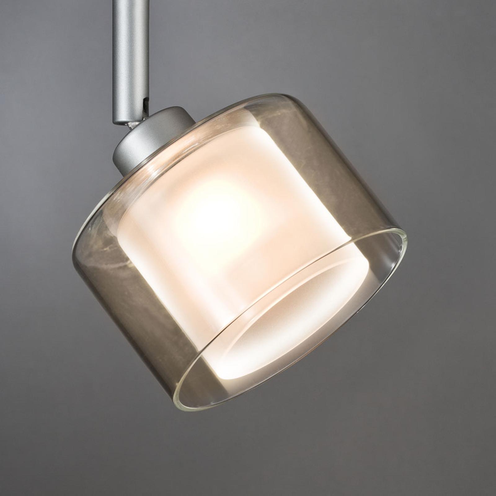 Paulmann URail DecoSystems Glasschirm Twice, klar