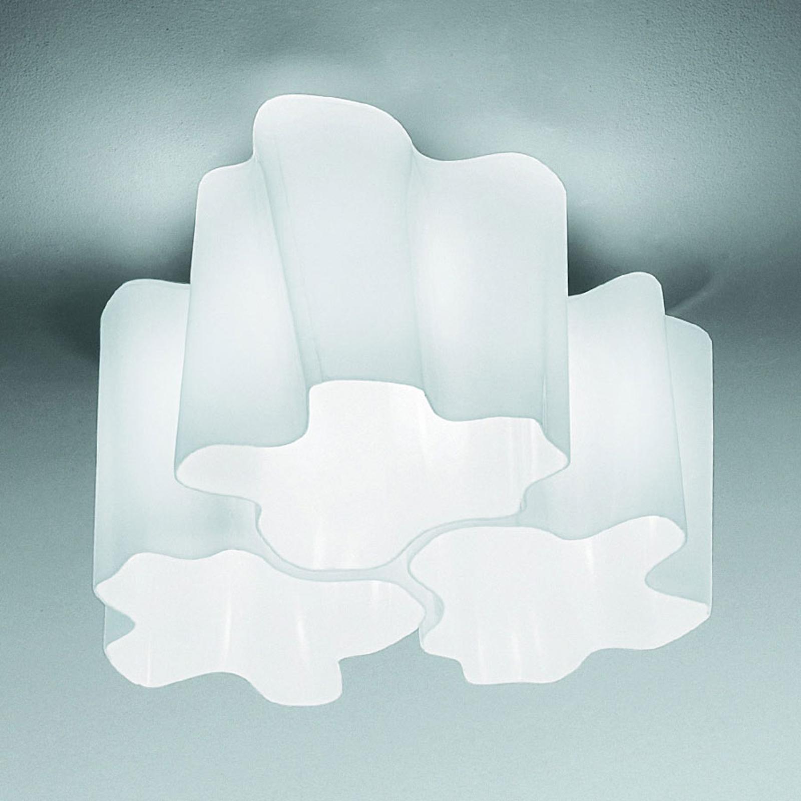 Artemide Logico lampa sufitowa 3-pkt. 120° 33x33cm