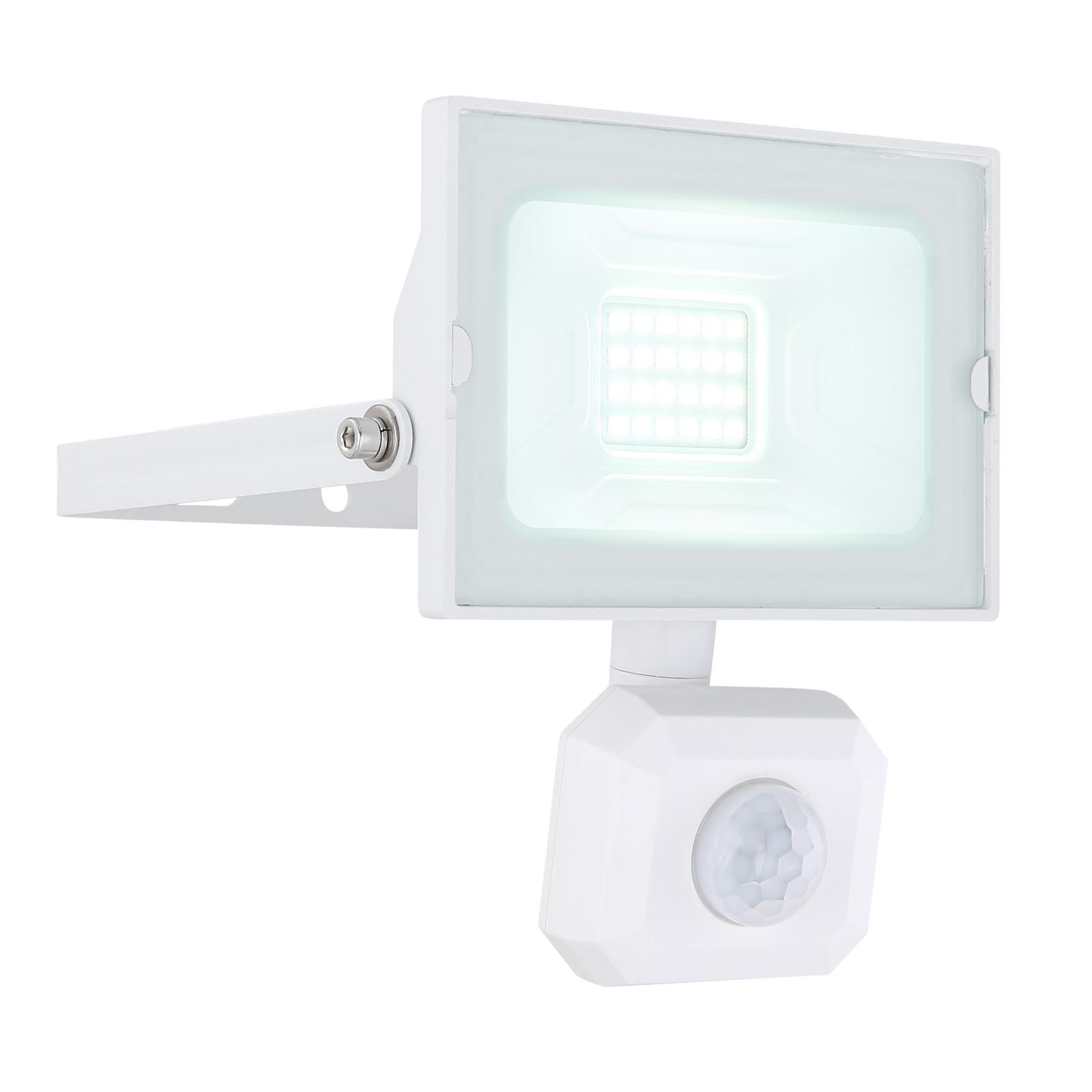 Lindby Aine LED buitenspot wit 13,3 cm sensor