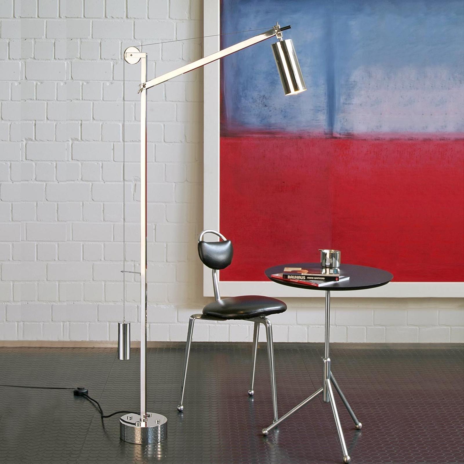 Picture of: Tecnolumen Omkreds Gulvlampe Bauhaus Stil Lampegiganten Dk