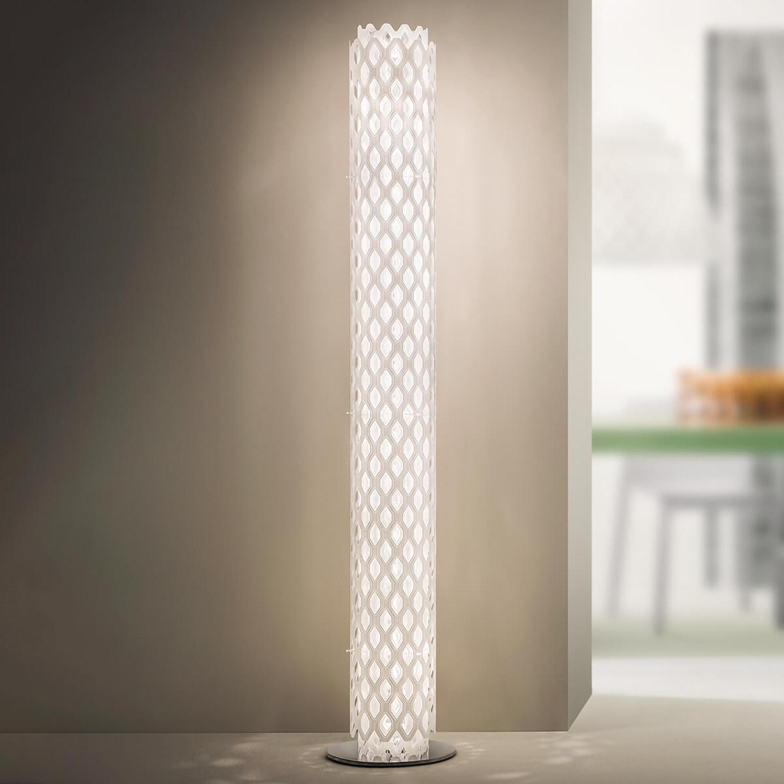 Slamp Charlotte - designer-vloerlamp, wit