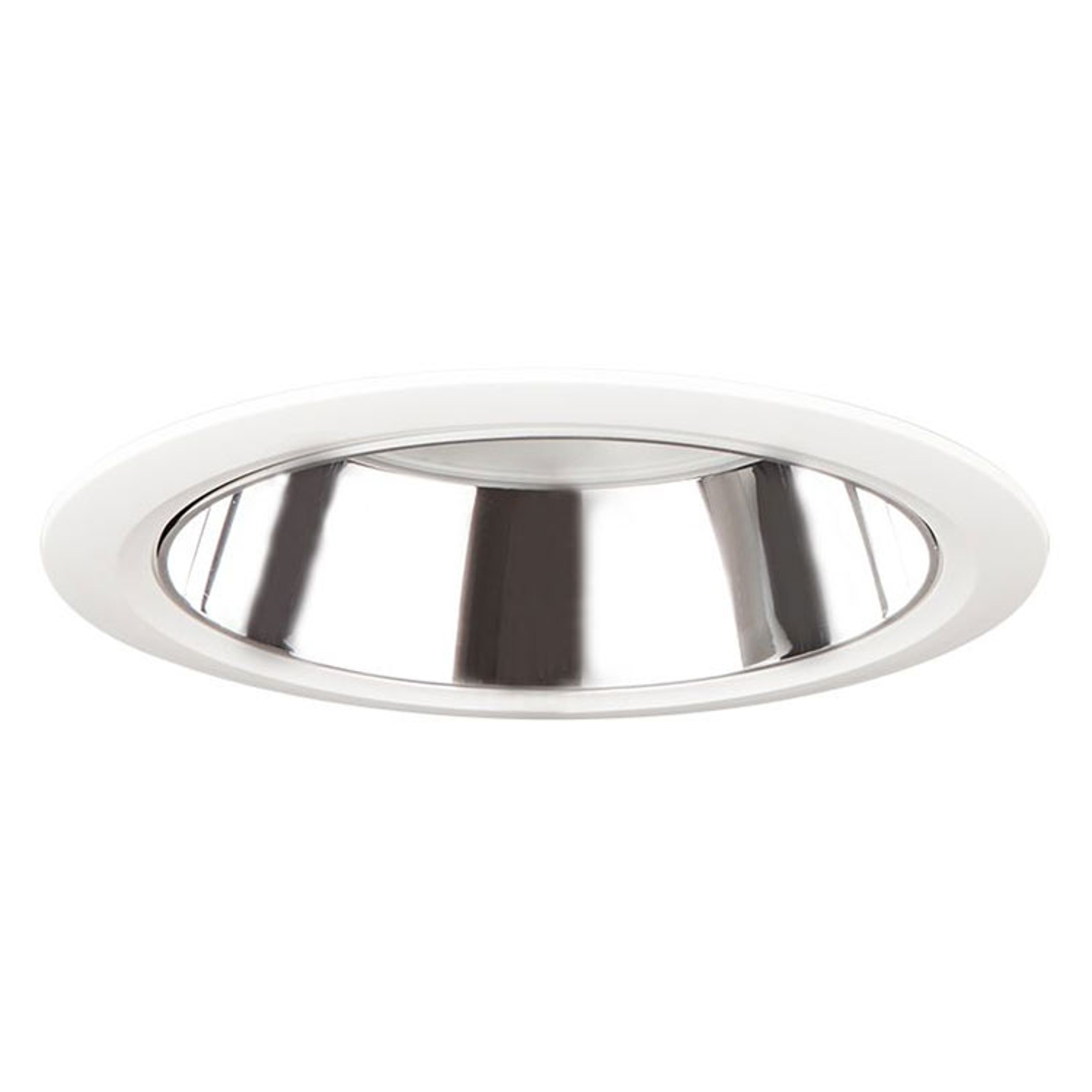 D70-RF155 downlight DALI sølv/hvit 4 000 K 14W